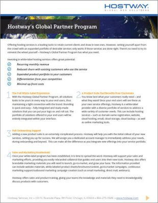 Brochure - Global Partners Overview