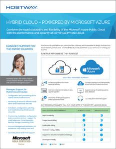 Hostway: Brochure – Hybrid Cloud